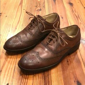 Sebago wingtip shoes - brown - size 10.5 D